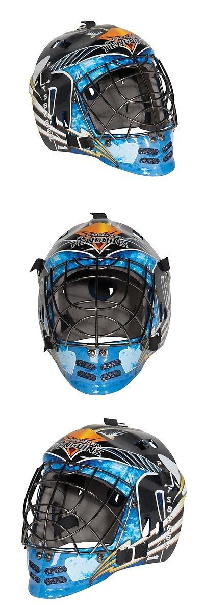 Face Masks 79762: Pittsburgh Penguins Nhl Franklin Sx Comp Street Hockey Gfm 100 Goalie Face Mask BUY IT NOW ONLY: $59.95