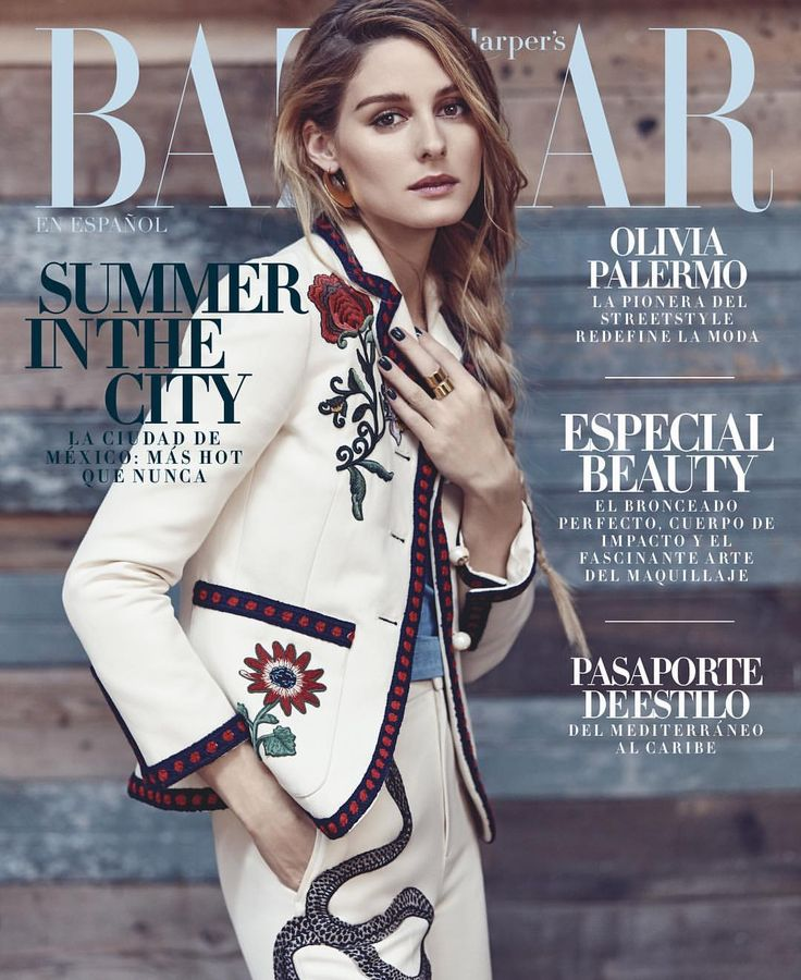 Olivia Palermo by Diego Uchitel for Harper's Bazaar Mexico June / July 2016 cover star - Gucci Spring 2016