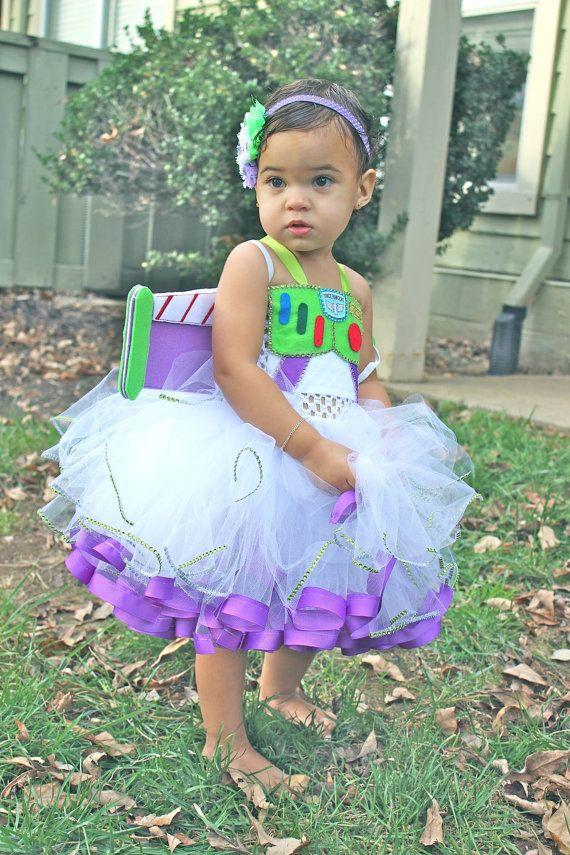 Buzz lightyear costume/ buzz lightyear tutu dress/ toy story