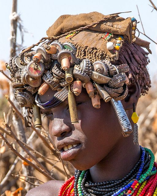 Omo Valley Ethiopia | Dasenech Girl | DaevidJ | Flickr