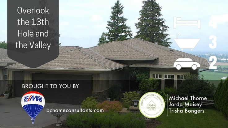 Another RE/MAX Miracle Network home! Visit the www.fallscourt.ca for full listing details. #realestate #chilliwack #thefallsgolfclub #13thhole #fraservalley
