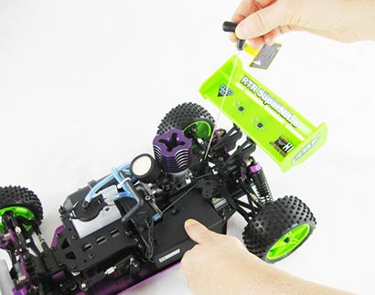 Now you think nitro is just as easier to operate as your first electric RC car.