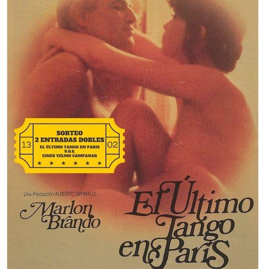 Sorteo 2 entradas dobles para la película  El último tango en París en los Cines Yelmo Campanar - http://www.valenciablog.com/sorteo-2-entradas-dobles-para-la-pelicula-el-ultimo-tango-en-paris-en-los-cines-yelmo-campanar/