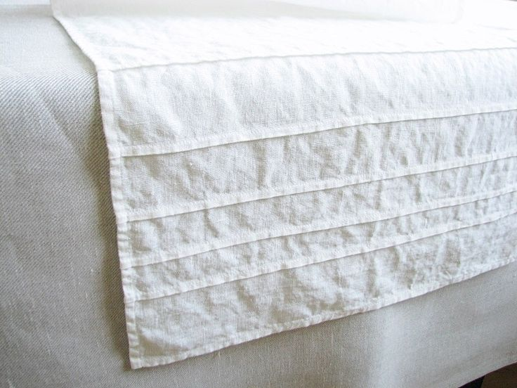 Long white linen table runner for wedding table serving/ rustic /table serving favors/ home decor/ custom size by LinenBloomShop on Etsy https://www.etsy.com/listing/188263940/long-white-linen-table-runner-for