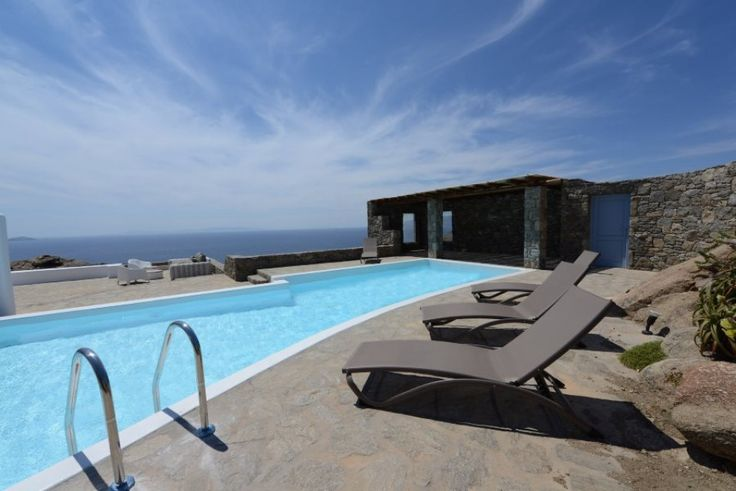 Situated at the southwest side of the island of Mykonos in the beautiful location of Houlakia, Villa Hyalite offers incomparable tranquility and peacefulness with its enchanting view of the infinite blue and the colorful sunsets of Mykonos.