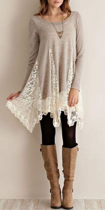 Asymmetrical Lace Shirt                                                                                                                                                     More