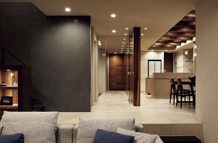 表情豊かな木質感に包まれたコンテンポラリーモダンの家【MITSUI HOME PREMIUM】- 最高の家づくりは注文住宅の三井ホーム