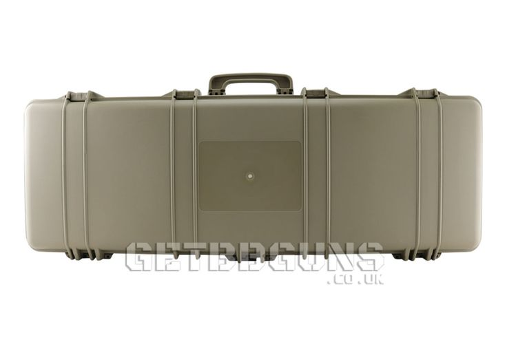 SRC P42 DESERT TAN AIRSOFT BB RIFLE HARD LONG CASE (103CM LONG)    Hard Carry Case for your Airsoft Rifle will hold most styles and types of rifles with space for spare mags and BB's. The case has 4 solid claps fastenings to keep your rifle secure and foam lining to stop your rifle from moving around inside.   DIMENSIONS: 103CM X 39CM X 14CM INTERNAL DIMENSIONS: 101CM  X 32.5CM #getbbguns #airsoft #guncase #bbgun #case #carrycase