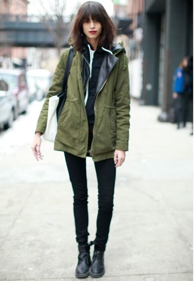 25  best ideas about Khaki Parka on Pinterest | Parka outfit ...