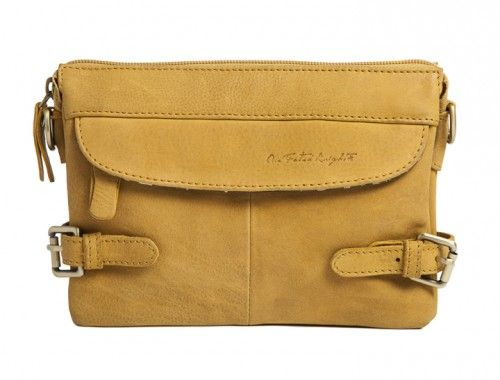 Cardinal - Strap in your daily essentials with all the buckles, zippers and pockets in this cross body satchel.