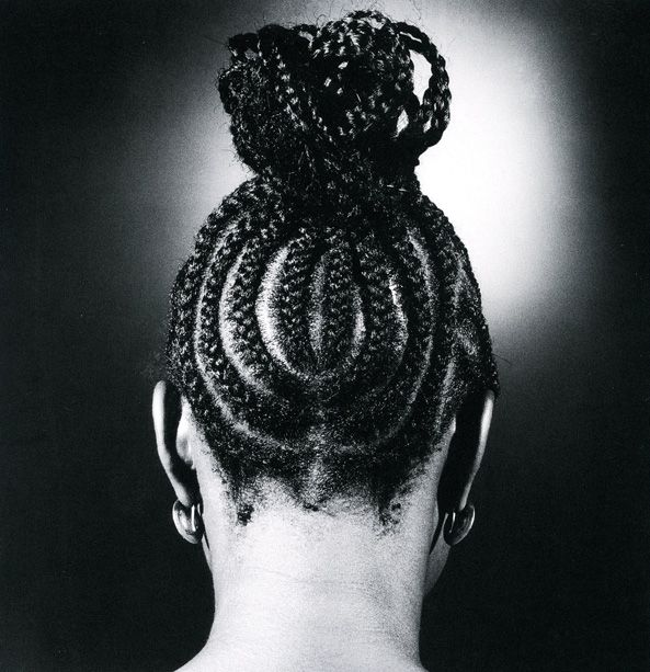 """alubarika: """"J.D. Okhai Ojeikere was a Nigerian photographer known for his works on numerous hairstyles found in Nigeria. 'Hairstyles' is his most known collection depicting the unique image of the..."""