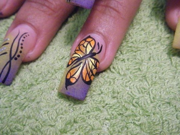25 trending professional nail designs ideas on pinterest nail professional nail designs with butterfly style prinsesfo Gallery