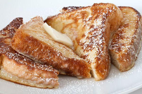 french toast!  Oh Mammy!  Can't wait to try this! Bread, Whole milk, eggs, lite brown sugar, cinnamon, unsalted butter,  salt, vanilla extract