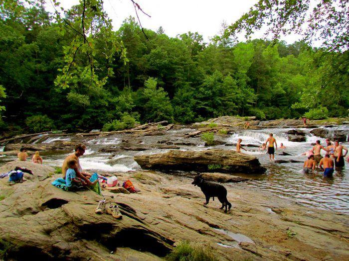If You Didn't Know About These 10 Swimming Holes In Georgia, They're A Must Visit