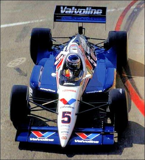 Al Unser Jr. - Lola T90/00 Chevrolet A - Galles Racing - Toyota Grand Prix of Long Beach - 1990 PPG Indy Car World Series, round 2