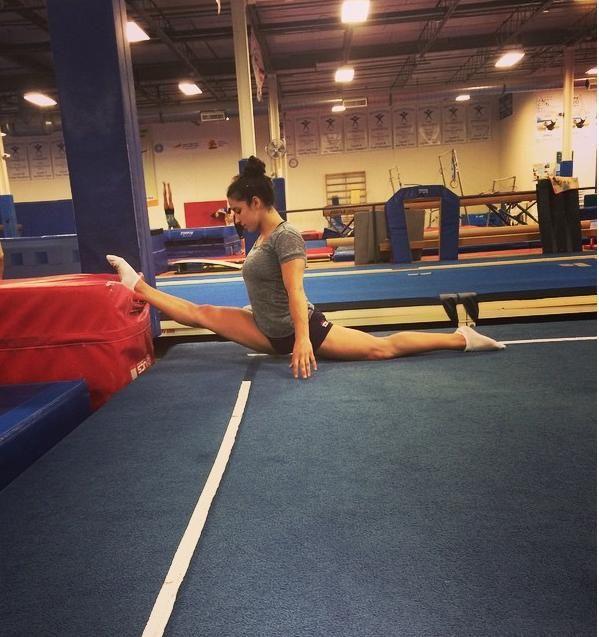 Olympic Gold Medalist gymnast Aly Raisman on body confidence.