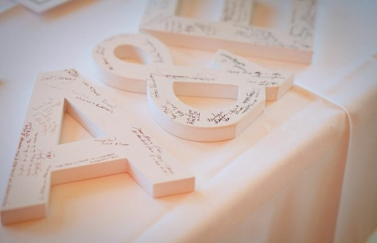 10 Best Wedding Guest Book Ideas for 2013