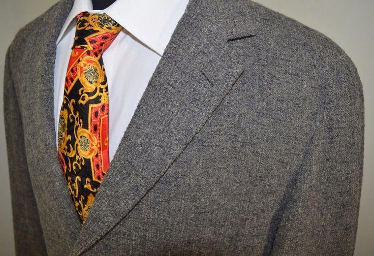 HUGO BOSS mens SCHURWOLLE 3 button sport coat blazer suit jacket 42R 42 regular #BOSSHUGOBOSS #ThreeButton