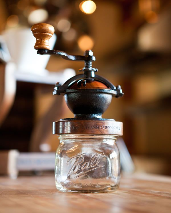 Camano Coffee Mill - Red Rooster Trading Company | specializing in handcrafted in the USA products, home of the Camano Coffee Mill |
