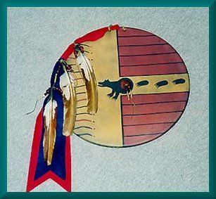 17 Best Images About Native American War Shields On