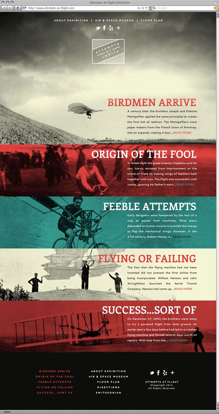 Attempts at Flight by Thomas Ramey