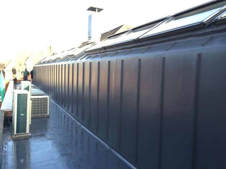 Single ply roofing with batten profile on Pentecostal church in Leicester
