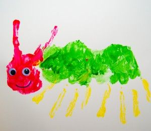Happy Birthday Eric Carle! Hungry Caterpillar Arts and Craft Activity
