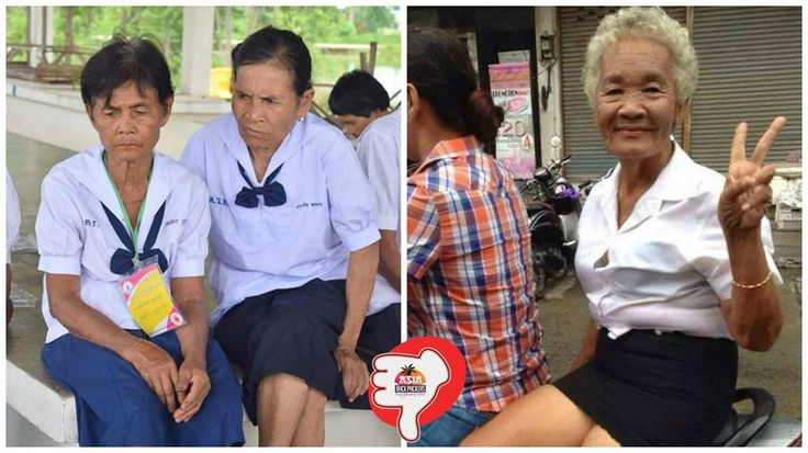 Mature students in Thailand