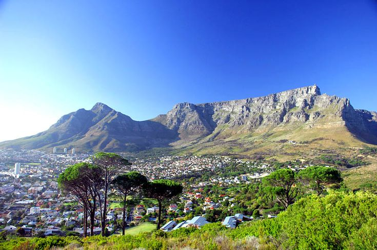 table mountain | Table Mountain National Park. Cape Town, South Africa