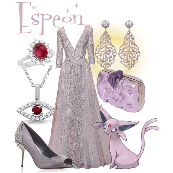 A fashion look from September 2014 featuring Elie Saab gowns, Carvela Kurt Geiger shoes and Benedetta Bruzziches clutches. Browse and shop related looks.