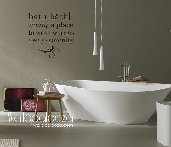 Best  Bathroom Wall Decals Ideas On Pinterest Ps I Love You - Wall decals bathroom