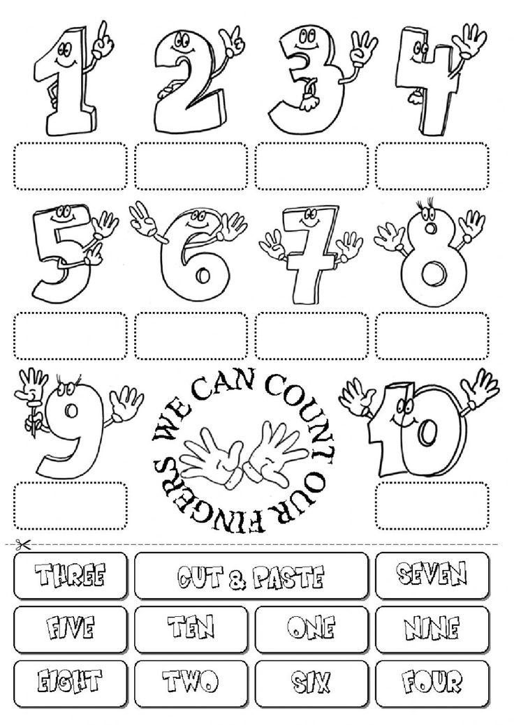 The Numbers Interactive And Downloadable Worksheet You Can Do The Exercises Online Or Download English Worksheets For Kids English Exercises Learning Numbers Numbers worksheets for kindergarten esl