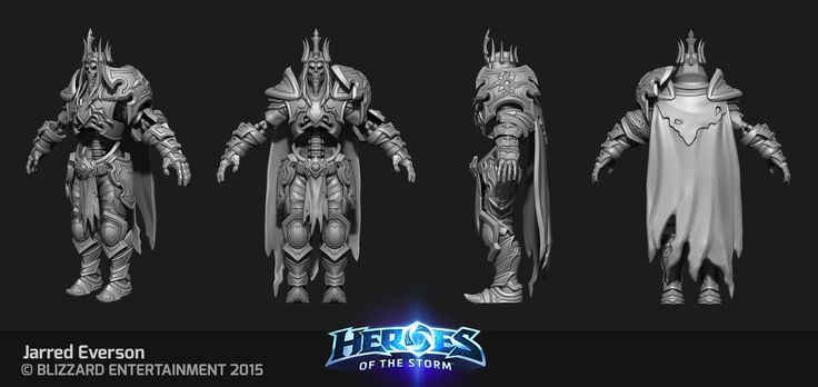 Jarred Everson 3d Artist Jarred Everson  heroes of the storm