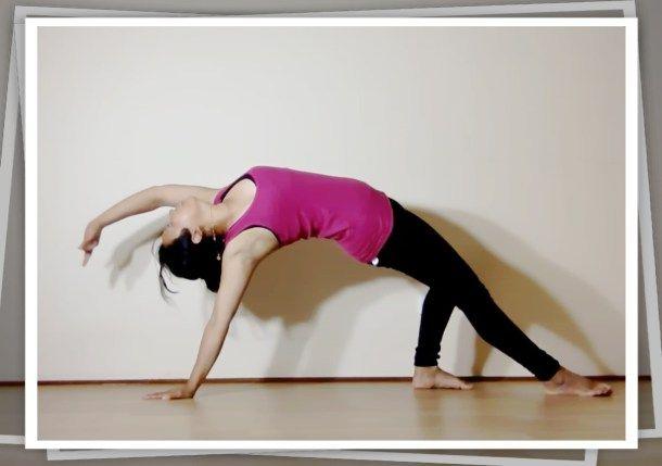 Yogasana: Wild Thing #atozchallenge