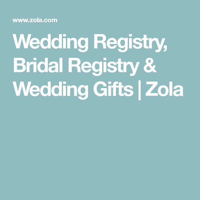 Best 25 bridal registry ideas on pinterest bridal decorations wedding registry bridal registry wedding gifts zola solutioingenieria Choice Image