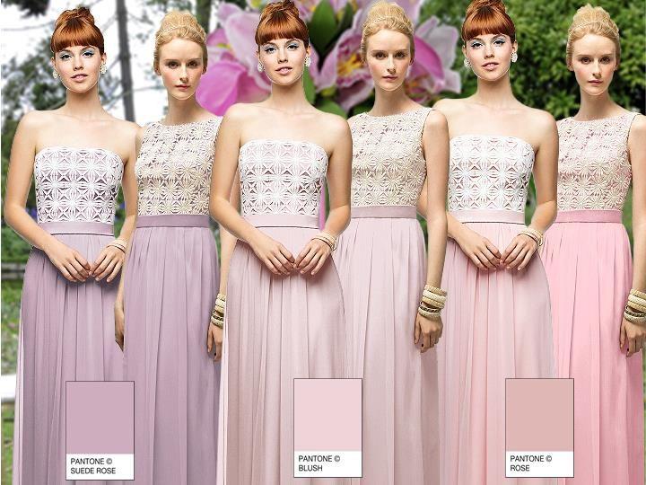 Pastel Daisy Lace Pantone Wedding Styleboard The Dessy Group Vintage Romance Bridesmaid Tea Pinterest And Flowers