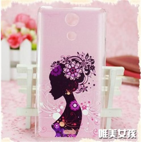 COSKIIZ Brightly Fine Beautiful Girl PC Painted Series Hard Case For Sony Xperia ZR