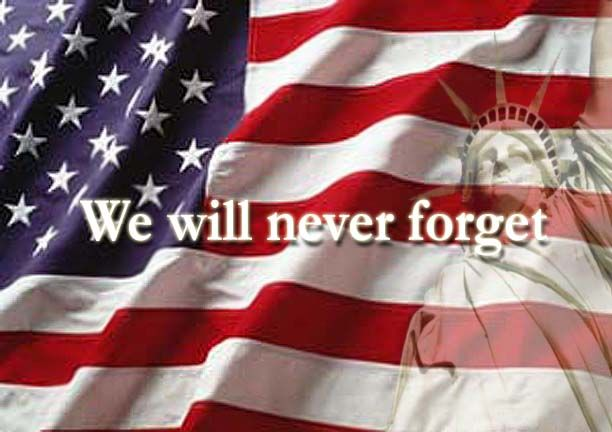 We will #NeverForget