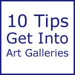 Contrary to what most new artists think, art galleries do want to look at new artists' artworks. Most art galleries want to be able to do this on their terms, on their time schedule and in their own manner. If an artist wants to successfully present their art to an art gallery, then they really should comply with the gallery's presentation procedures.    http://www.lightspacetime.com/newsletter/10-quick-tips-to-get-your-art-into-an-art-gallery/