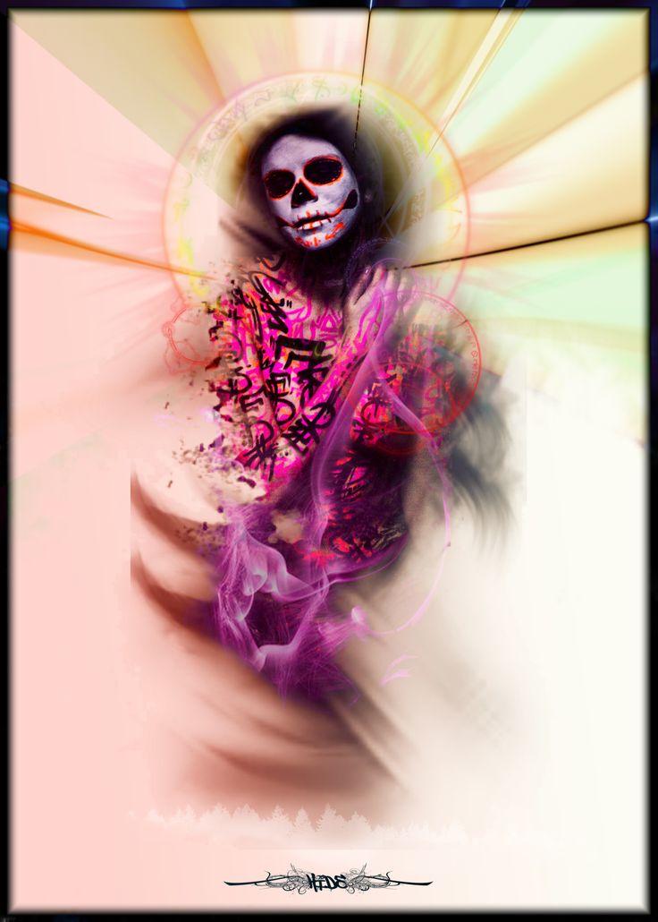 - Santa Muerte -   https://www.facebook.com/HIDeLighteur?fref=ts