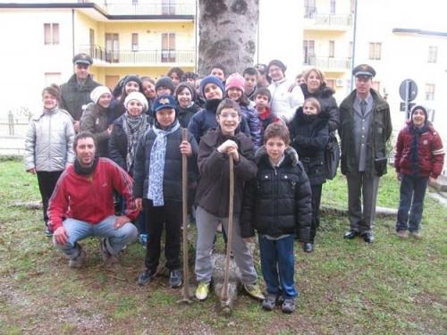 Seconda giornata dell'albero con Al Parco Lucano