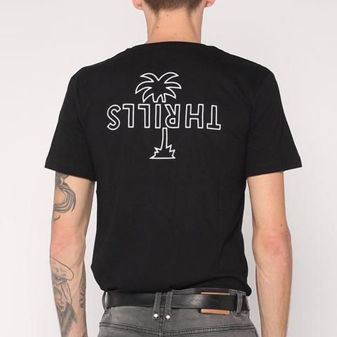 OUTLINE PALM TEE - Thrills Co.