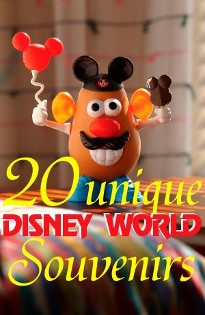 20 unique Disney World souvenir ideas - plus tons of great tips on saving money at Disney World Resorts!