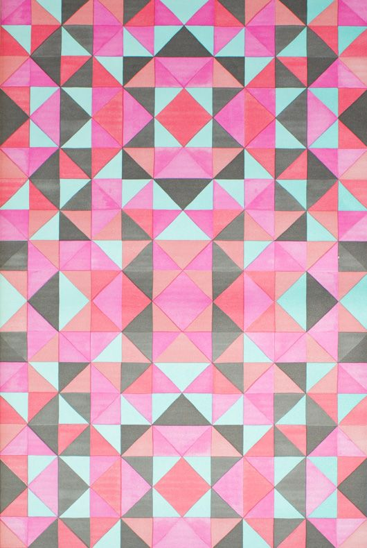 eurowalls Mariska Meijers geometric wallpaper
