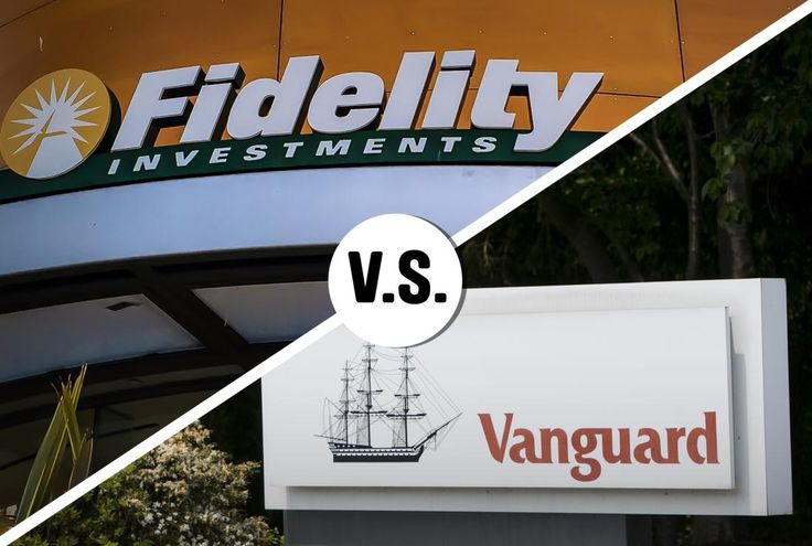 Fidelity Investments and Vanguard Group
