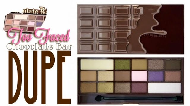 Too Faced Chocolate Bar Palette Dupe • Save some money this summer & still get great looks!