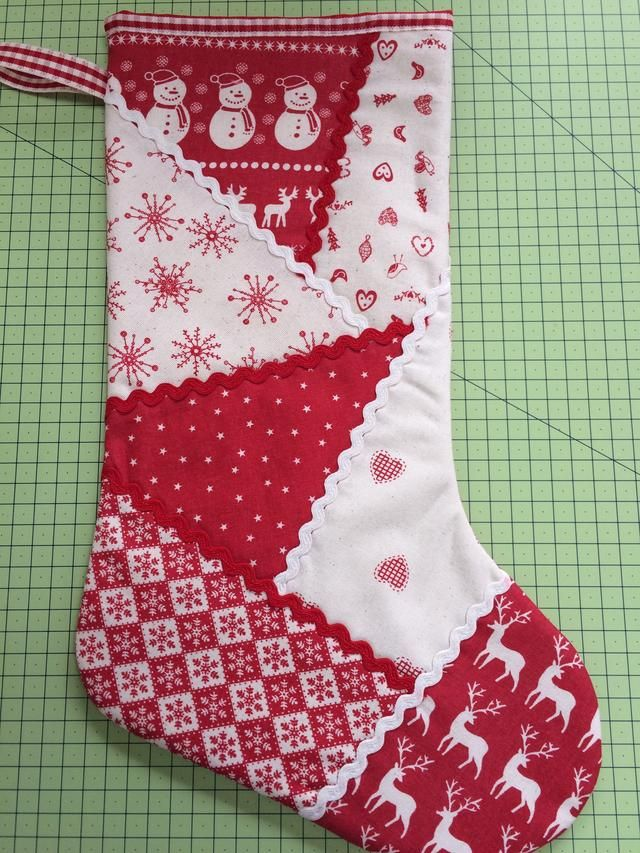 How To Make A Patchwork Christmas Stocking Recipe Quilted