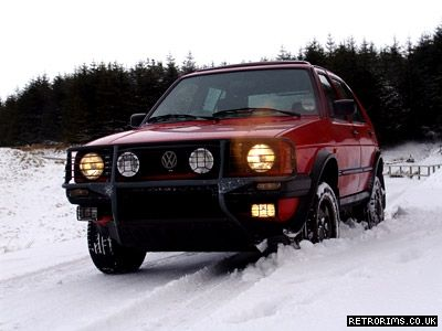 VW Mk2 Golf Country