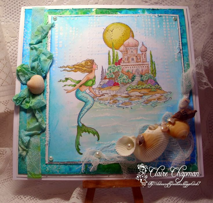 Chocolate Baroque Design Team: Mermaid Landscape (posted by Claire)