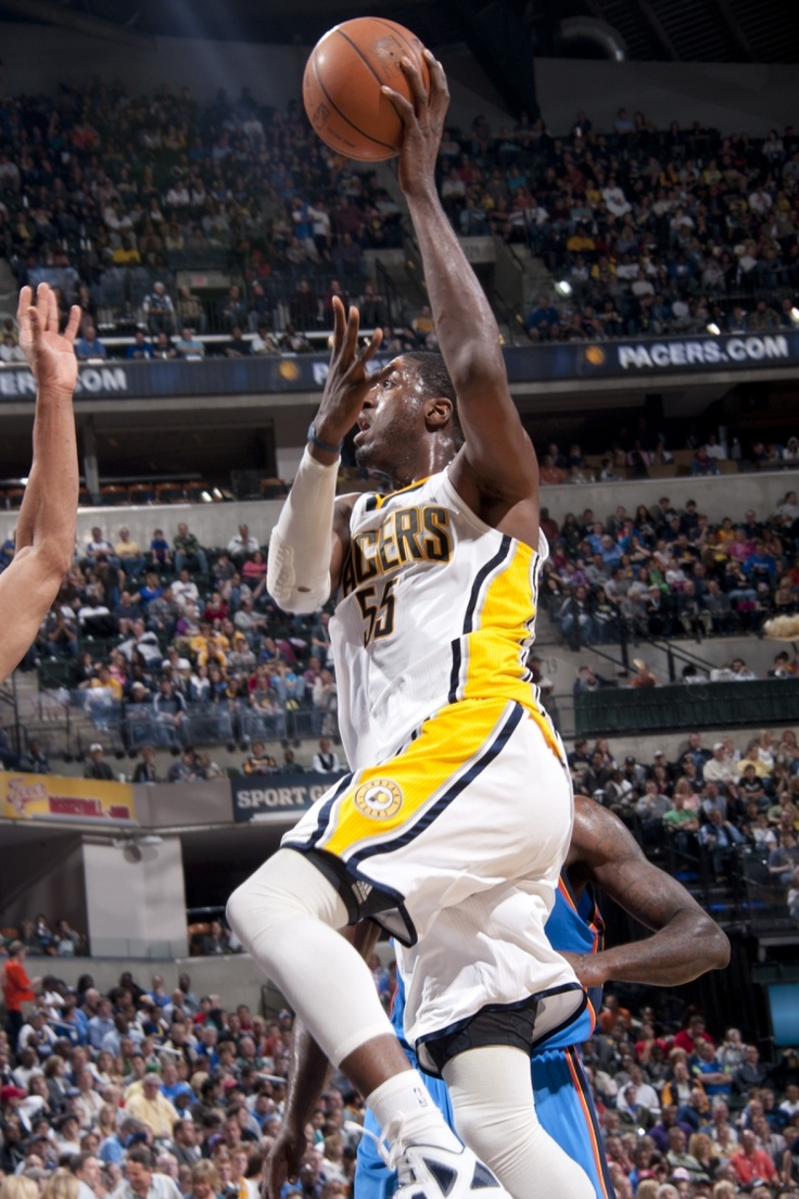 Pacers center Roy Hibbert took his game to another level in 2012 and was rewarded with his first trip to the All-Star game.: Seasons Photo, Photo Galleries, View Photo